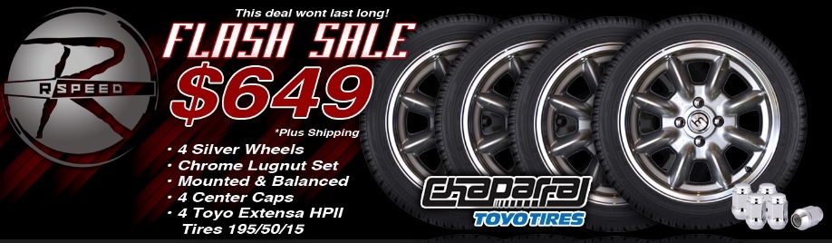 Wheel Package Flash Deal